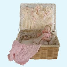 Maree Massey doll artist :Large Baby in a Layette