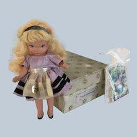 "Nancy Ann Storybook Doll  ""JUDY ANN"" Alice in wonderland #125"
