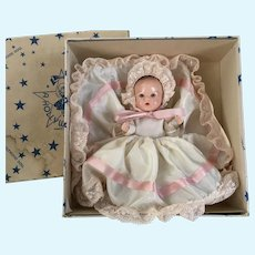 """Hollywood Baby  Doll   1950's """" Rock-a-bye Baby"""""""