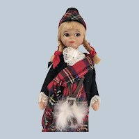 """Old Cottage Doll # 301"""" Scots Girl"""""""