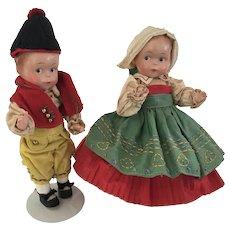 """Effanbee RARE Betty Butin Nose """" Swiss Children"""""""