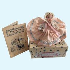 "Vintage Hollywood Mfg Doll Co "" Little Tee Wee"""