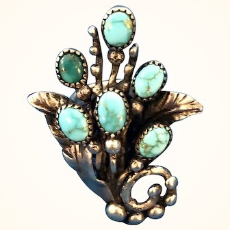 RARE Frank Patania Sr. Floral Spray Ring 1940