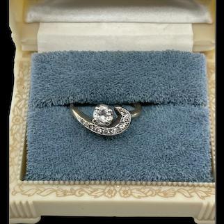 1940's 14k Gold .25 Carat Diamond Ring