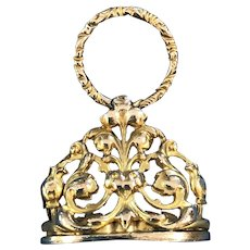 Victorian Rolled Gold Watch Fob