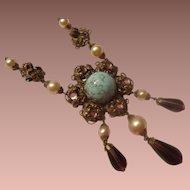 Austrian Victorian Revival Necklace