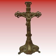 Art Nouveau Standing Cross