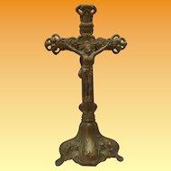 Art Nouveau Standing Cross