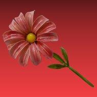Original by Robert Enameled Daisy Flower