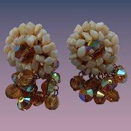 Classy Vendome Clip Earrings