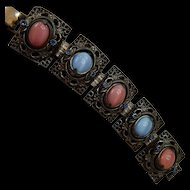 Reversible Flip Stone Bracelet Unique!