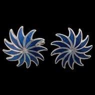Mexican Sterling Earrings R. Garcia