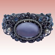 Book Piece! Selro Faux Moonstone Cuff