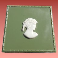 Early Plastic Cameo Jewelry Box