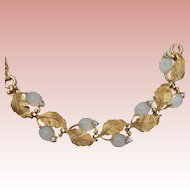 Pennino Molded Moonstone Glass Bracelet