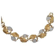 Pennino Molded Moonstone Glass Bracelet