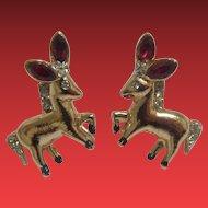 Coro Donkey Earrings