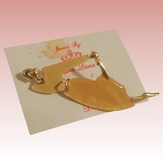 Classic Park Lane Lady Brooch On Card