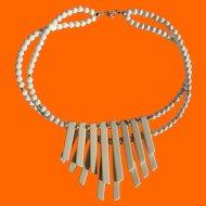 Trifari Ivory Tone Necklace