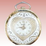 Lucerne Swiss Sweetheart Watch Pendant