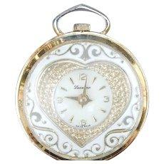 Lucerne Swiss Sweetheart Watch Pendant