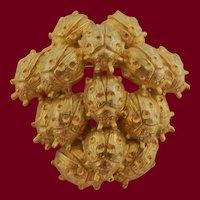 Nettie Rosenstein Ladybug Pile Brooch