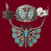Celebrity South Western Enameled Butterfly Set