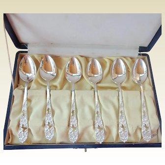 Sterling 950 Demitasse Spoon Set