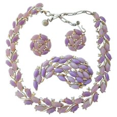 Pretty in Purple Demi Parure