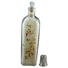 18th Century Scent Bottle Smelling Salts Flask Flacon Circa 1770s Georgian