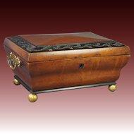 Regency Jewelry Box Palais Royal France Circa 1820