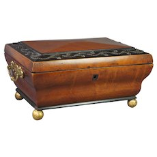 Regency Jewelry Box Palais Royal France Circa 1820