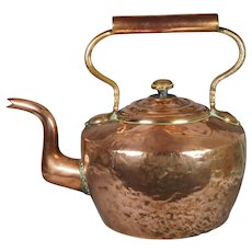 Huge OUTSIZE Victorian Copper Kettle From Scottish Estate Duke Of Buccleuch Circa 1870