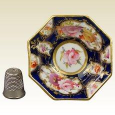 19th Century Coalport Porcelain Miniature Doll Bowl Circa 1820 Regency Era