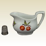 19th Century English Porcelain Miniature Toy Jug Doll Sauce Boat Creamer Circa 1820