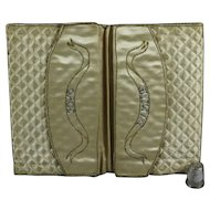 18th Century Georgian Pocketbook Letter Case Purse Sewing Etui  Museum Quality Circa 1770 French Wedding Gift