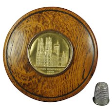 Antique Georgian John Hardy Snuff Box Treen Relic of York Minister Fire 1829 Artist John Martin Family Connections