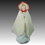 Alt Beck & Gottschalck ABG Bisque Parian Doll 13 inch Mold 1222 Stunning Antique Layers of Clothing Corset Too 1880s !