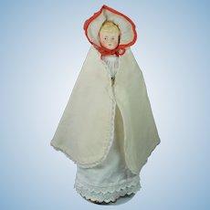 Alt Beck & Gottschalck ABG Bisque Parian Doll 13 inch Mold 1222 Stunning Antique Layers of Clothing Corset Too 1880s !
