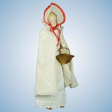 "German 13"" Parian Bisque Shoulder Head Doll by Alt, Beck & Gottschalck"