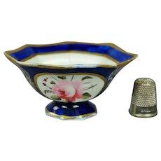 19th Century Coalport Porcelain Miniature Dolls Bowl Floral Regency Circa 1820 Georgian