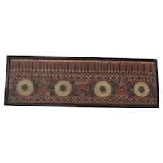 19th Century Wedding Suzani Panel, Bukhara, Bokhara, Provenance Lady Baker C 1850