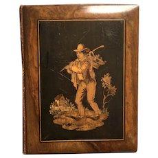 19th Century Sorrento Ware Photo Album, DALE family Interest, England and Australia