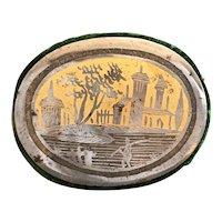 Rarest 19th Century Cut Steel and Gilt Pin Cushion, Pincushion, Niello, Tula Ware C 1840