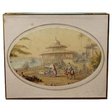 Stunning Early Victorian Boxed Needle Box Set, Needle Packet, Needle Case Circa 1839