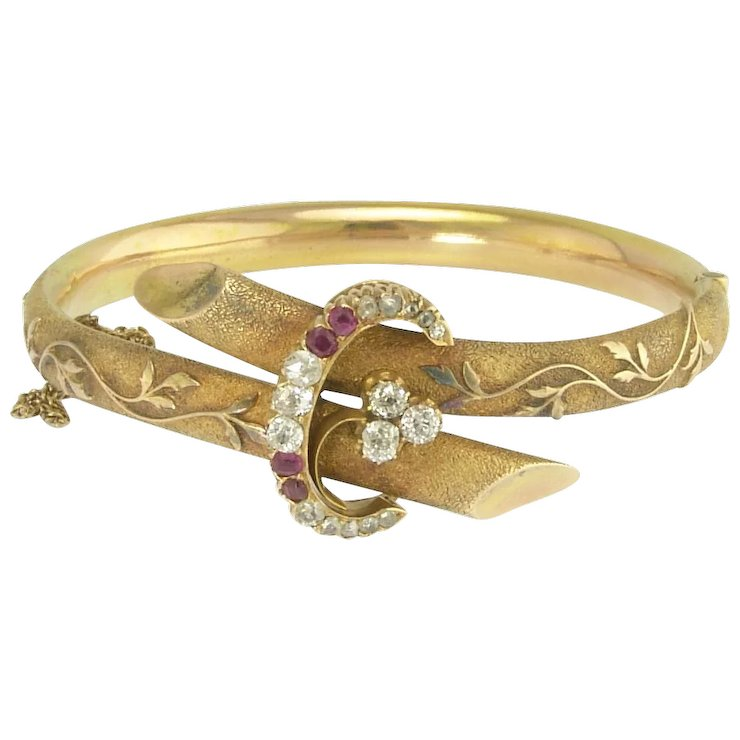 days jewels ruby gold bangle and s sothebys christmas twelve parrot bangles diamond thru sotheby of bracelet