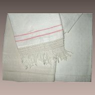 Victorian Hand Towels Three Piece  group number 3