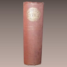 Charles Dickens Old Curiosity Shop  with Sketches Published 1867 - 1870