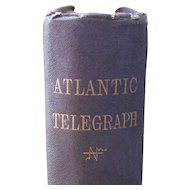 First Edition History of the Atlantic Telegraph by Field, Henry M.  1866