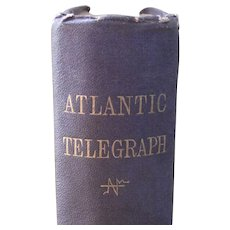 First Edition History of the Atlantic Telegraph by Field, Henry M.  1866 - Red Tag Sale Item